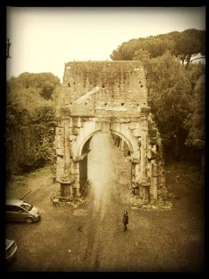 Ancient Roman Door to the City