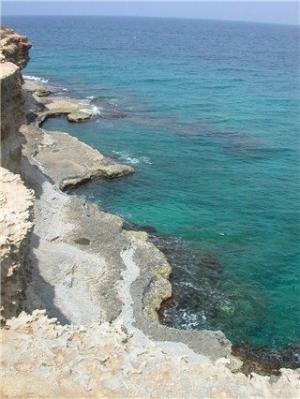 The gorgeous Adriatic Coast of Puglia, Italy.
