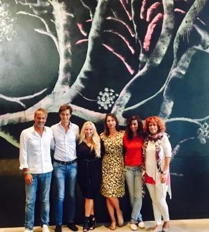 With the Quarta Family in Puglia