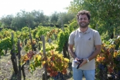 Alberto Graci in Graci Vineyard on Mt. Etna