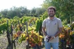 Alberto Graci in Graci Vineyard on Mt. Etna