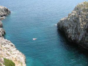 The sea, the sea, the sea!! It's all about the sea in Salento.