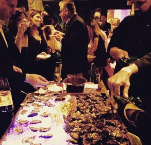 Oyster Bar Hosted by Hog Island Oyster Company at the GourmetFest 2016 in Carmel by the Sea.